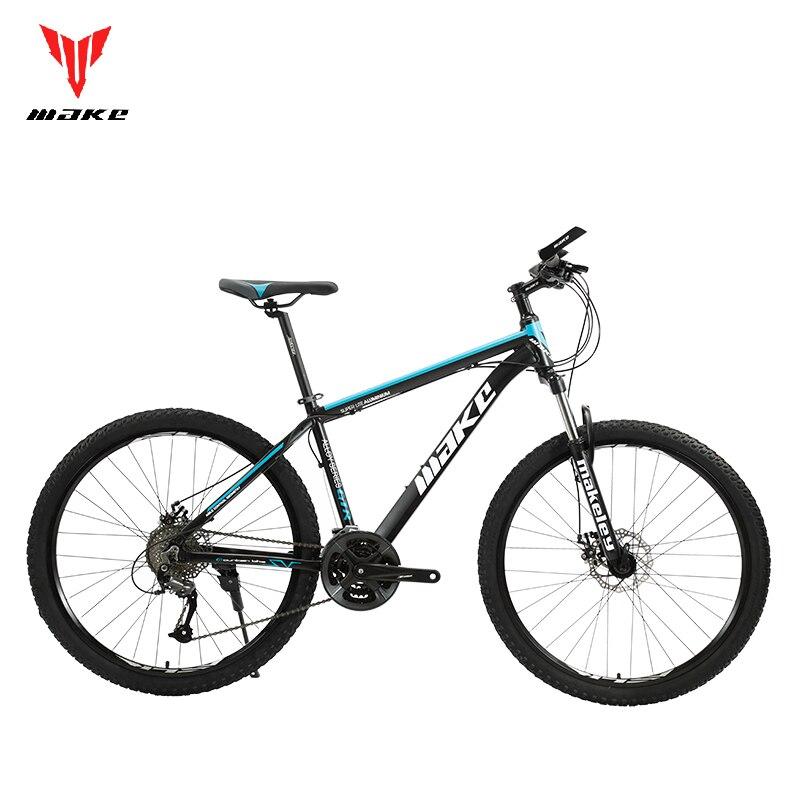 Горный велосипед MAKE SHIMAN0 AItus, 27,5 дюйма, 29 дюймов, гидравлический/механический тормоз