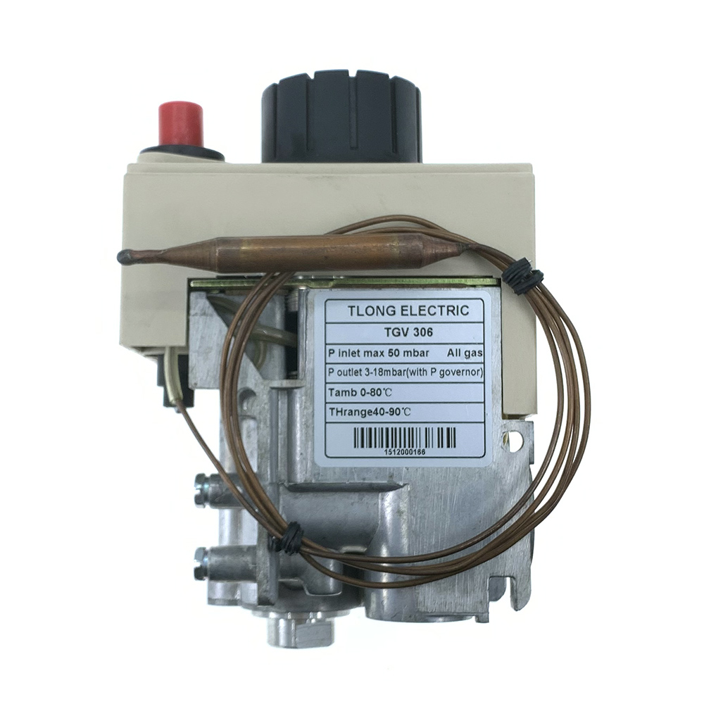 TGV 306 Gas Boiler Part Thermostat Gas Valve Multifunctional Combination Gas Control TELONG ELECTRIC