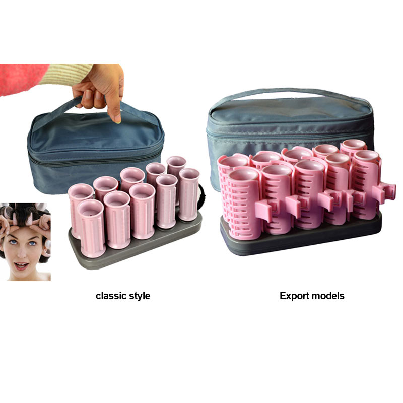 New Hot 10 Pcs/Set Electric Roll Hair Tube Heated Roller Hair Curly Styling Sticks Tools SMR88