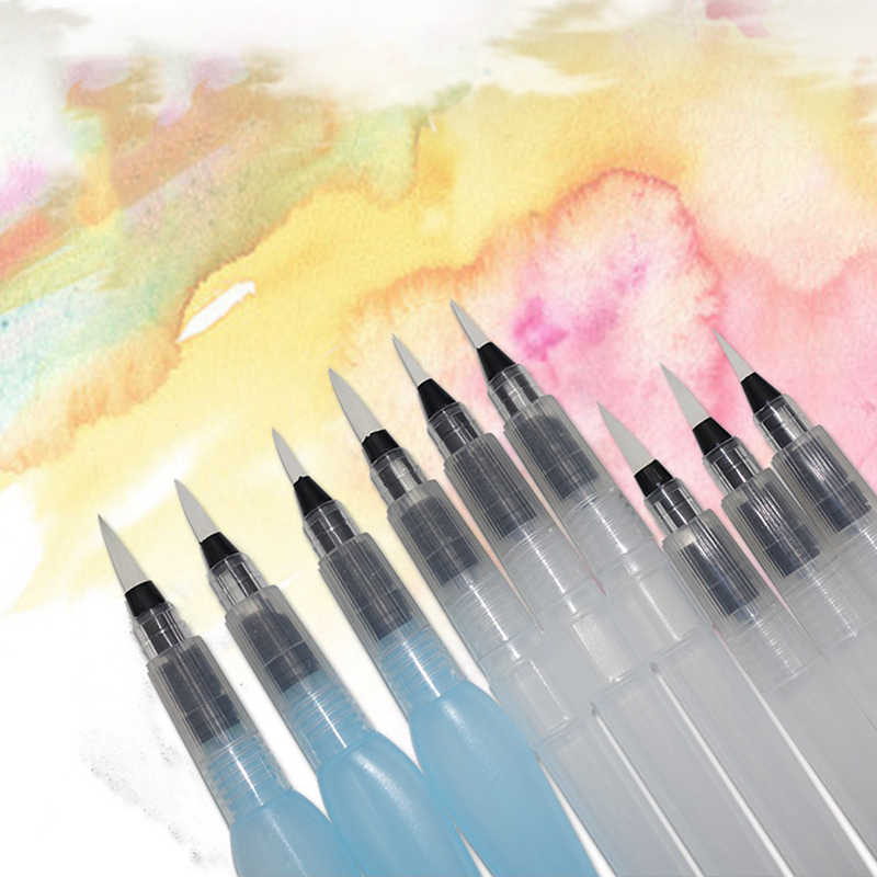 3pcs Paint Brush Water Color Watercolor Brush Painting Brush Set Drawing Pen