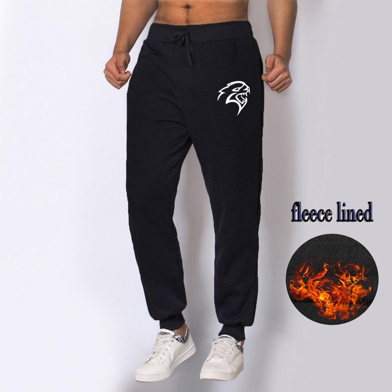 Tracks Men Pants Baggy Jogging Fleece Lined Sport Gym Winter Casual Sweatpants