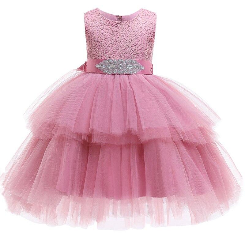 2019 Winter Pageant Baby Tutu Dress Girl Kids Dresses For Girls Clothing Party Wedding Dress Elegant Princess Dress Evening