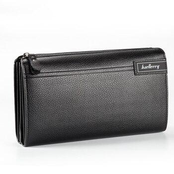 Men's Clutch Business Casual Large Capacity Multifunctional Lychee Pattern Zipper Clutch Purse 2020 New PU Leather Clutch clutch isabella rhea clutch
