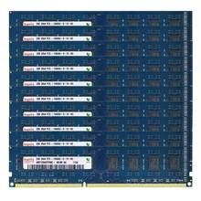 Usado PC3-10600U dimm desktop memória 10 peças conjunto 2gb ddr3 ram 1333mhz2rx8 240 pinos 1.5v não ecc intel e amd compatível