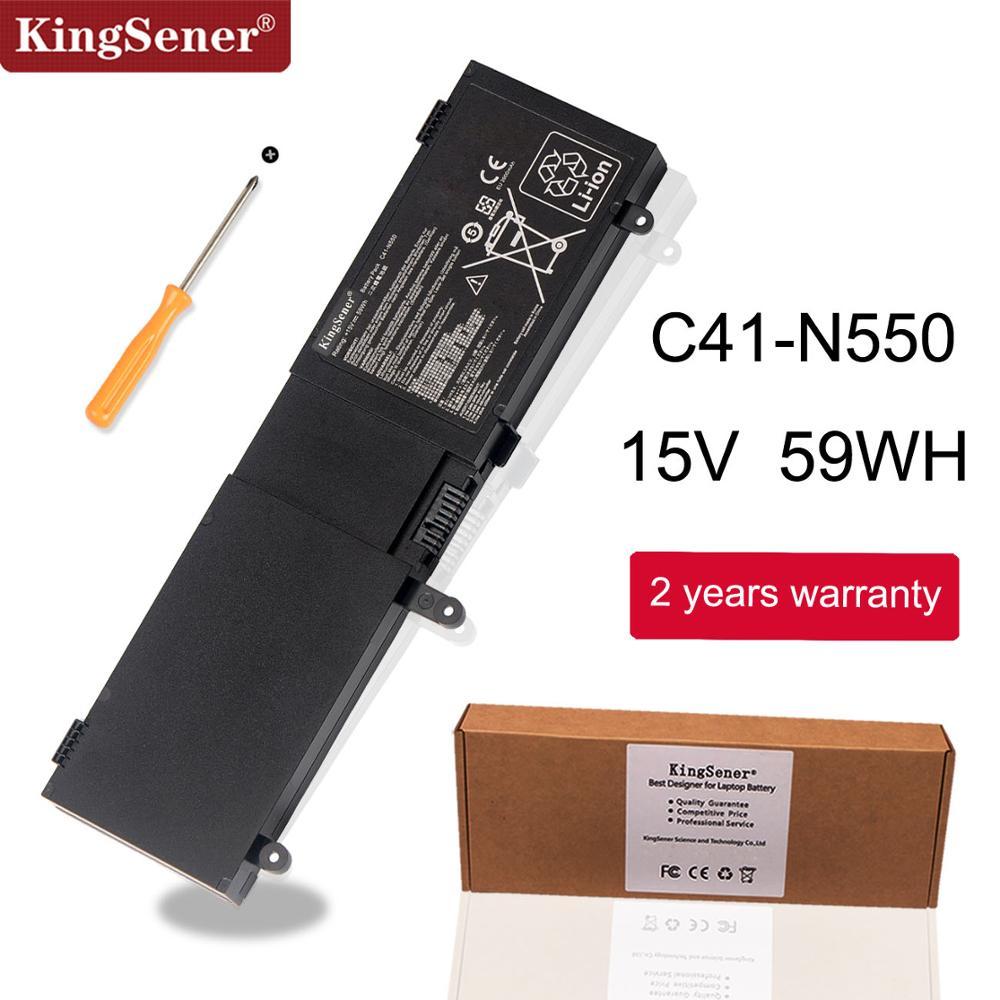 KingSene C41 N550 Аккумулятор для ноутбука ASUS N550 N550JA N550JK N550JV G550 G550J G550JK ROG G550 G550J G550JK Q550LF Q550L Series