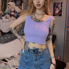 Wholesale Sweet crop tops women 2020 newest woman clothes su