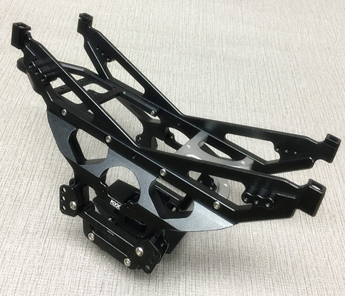 KYX Racing Metal Chassis Frame Upgrade Kit Parts Accessories For RC Crawler Car Axial Wraith
