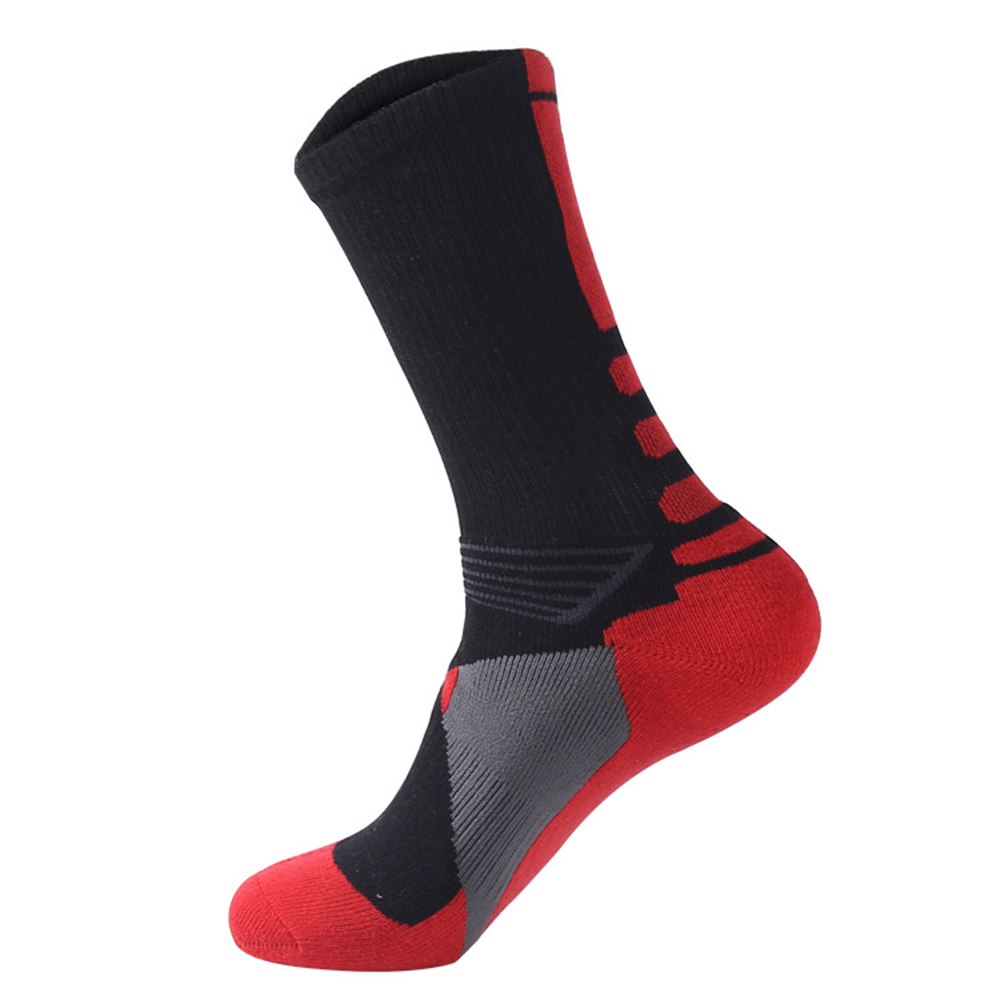 Cycling Socks Knee-High Professional Bicycle Compression Stocking Breathable Outdoor Sport Footwear Protect Running Socks BC0226 (5)