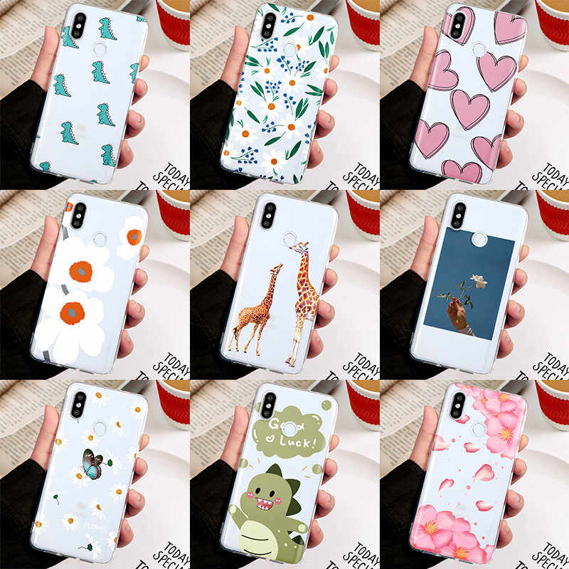 Daisy flower Couple Cover For Xiaomi Mi A3 A2 A1 8 9 SE T 6 CC9 CC9e 9T Note 10 Pro Lite Pocophone F1 F2 Pro 5X 6X Soft TPU Case