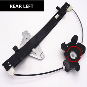Window regulator bracket for 09-15years SAIC ROEWE 350 Left Right Front Rear Window lifter bracket 4pcs for changan cs35 glass elevator switch electric vehicle window switch left front right front left rear right rear