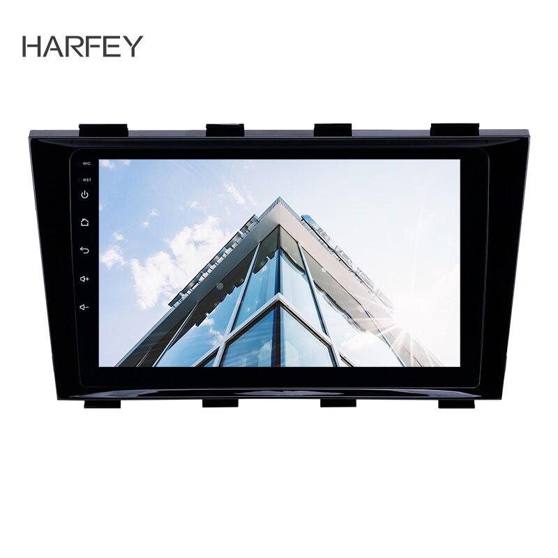 Harfey 9 pouces HD Écran Tactile GPS Navi Radio Android 8.1 pour Geely Emgrand EC8 2009-2015 avec Bluetooth AUX soutien Carplay