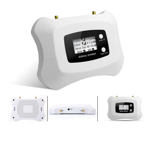 Image 2 - Homely and Fashionable signal Repeater 2G 4G Cell phone Amplifier LCD DCS 1800MHz Mobile Signal Booster with Yagi antenna kit