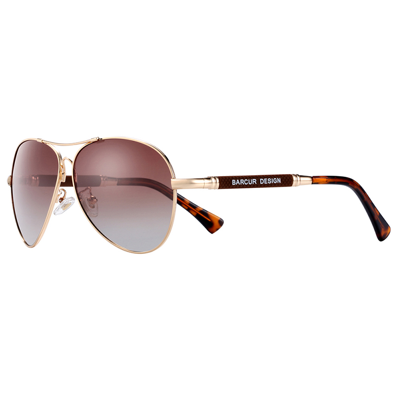 Hf5279ae070fd46839215841b5f3bb4f4L BARCUR TR90 Sunglasses Polarized Men's Sun glasses Women Pilot UV400 Mirror Oculos de sol
