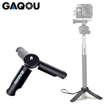 GAQOU Mini Tripod for Smartphone/Phone Holder Stand Monopod Gopro 6/Smooth Q/DJI OSMO Portable Collapsible Tripode