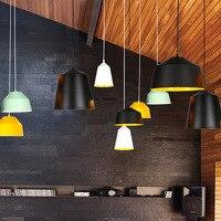Gaiola moderna luz pingente de ferro preto pendurado gaiola do vintage lâmpada led e27 para sala jantar restaurante barra balcão industrial loft Luzes de pendentes     -