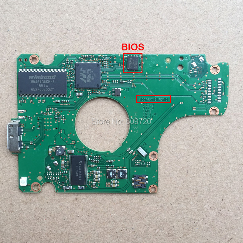 Hard Drive Parts PCB Printed Circuit Board M8U R00 100760718 REV C For  SAMSUNG 2.5 USB3.0 Hdd Data Recovery