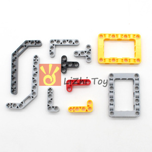 Image 5 - 548PCS בלוקים טכני חלקי Liftarm קרן צלב סרן מחבר לוח MOC אבזר צעצועי מכאני רכב בתפזורת תואם Legoeds