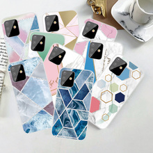 Transparent TPU Marble Phone Case For Samsung Galaxy A3 A5 A6 A7 A8 A9 2015 2016 2017 A310 A510 A710 A320 A520 A720 Soft Cover qijun glitter bling flip stand case for samsung galaxy a7 a 7 a700f 2016 a710 2017 a720 sm a720f wallet phone cover coque