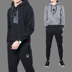 Hoodie Anzug Herbst Männer 2019 Frühling Und Herbst Mit Kapuze Sport Casual Paare Zwei-Stück Set Trend Frühling Kleidung Mantel
