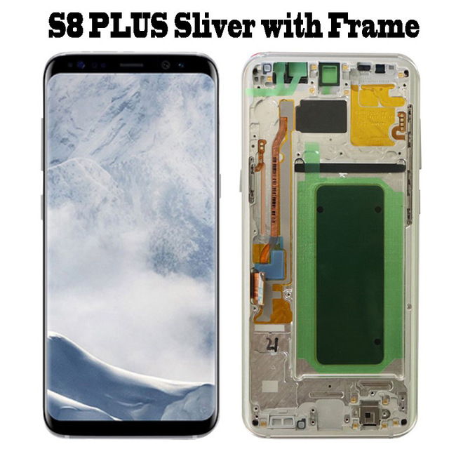 S8 Plus Silver frame