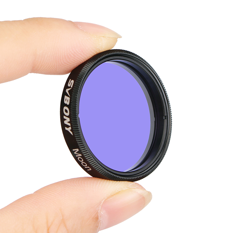 """HOT 1.25/"""" Eyepiece Colored Filter Set /& Moon Filters Accessories for Telescope"""