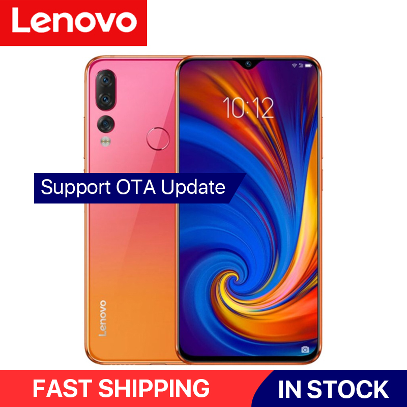 """Global Version Lenovo Z5s Mobile Phone Snapdragon 710 Octa Core 4GB/6GB+64GB Cellphone Face ID 6.3"""" Android P Triple Rear Camera"""