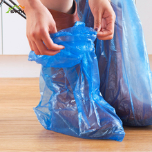 Thickened and long disposable shoe covers Waterproof Rainproof high wholesale