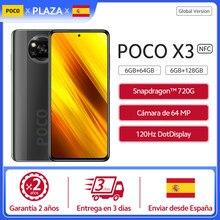 POCO X3 – smartphone, Version globale, écran 6.67 pouces FHD, dot display, caméra AI Quad 64mp, batterie 5160mAh, 33w, 3.5mm, en Stock