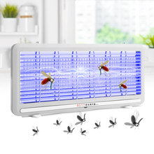 8W Elektrische Muggen Killer Lamp Led UV-A Pest Fly Insect Anti Mosquito Repeller Led Lamp Thuis Ongediertebestrijding Licht armatuur(China)
