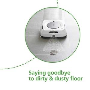 Image 5 - 12 قطعة تنظيف الملابس اكسسوارات ل IRobot برافا جت M6 (6110) واي فاي متصل روبوت ممسحة مكنسة كهربائية تنظيف الملابس IRobot