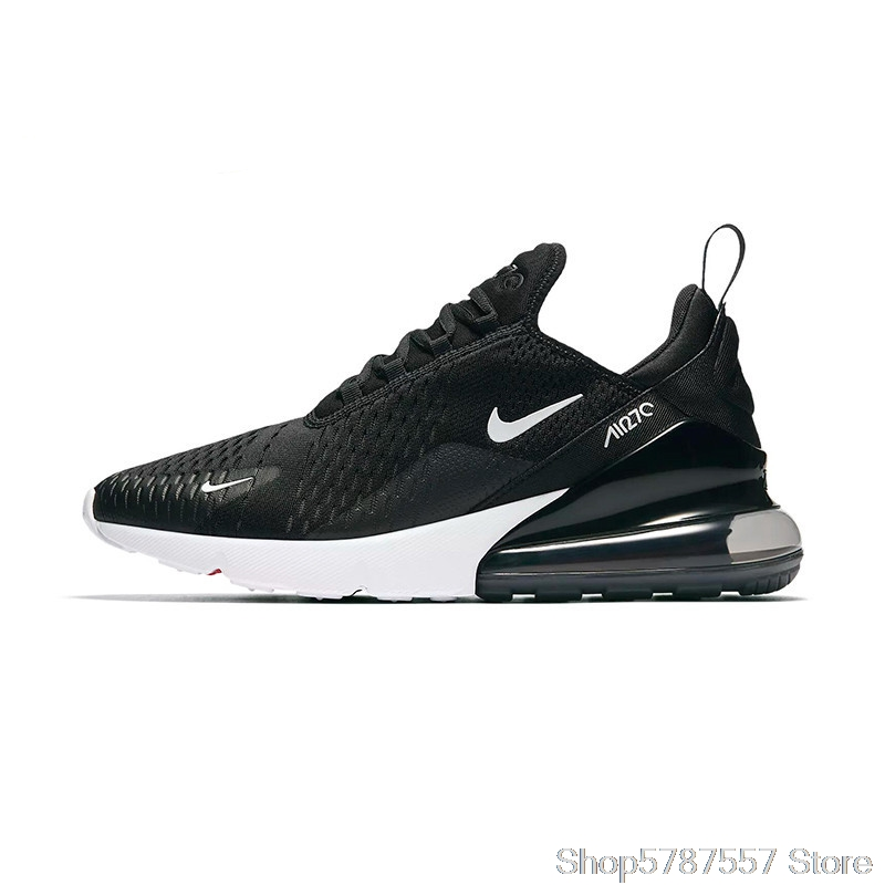 Original AIR MAX 270 Men's Black Sneakers-Lightweight Sneakers Style Durability Air Max 270 Women's Shoes Zapatos