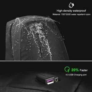 Image 3 - Tigernu 패션 배낭 안티 절도 15.6 인치 노트북 Mochilas Splashproof 남성 여성 배낭 USB 충전 여행