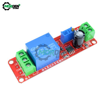 цена на DC 12V Delay Relay Shield Module NE555 Time Relay Module 0-10S Connect Turn-On Timing Control Switch Car Relays Duty Cycle