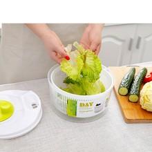 Большая емкость чаша для мытья овощей Сушилка безопасная быстрая легкая вода для кухни сад дом