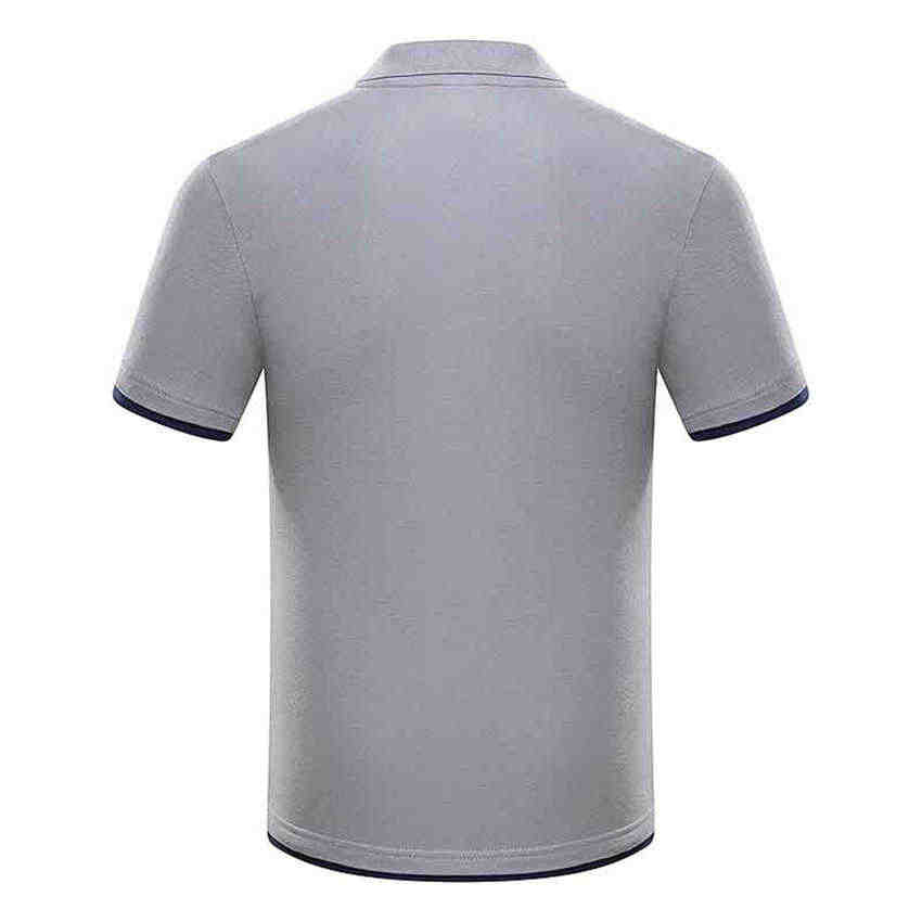 New Fashion Plus Size Men's Polo Shirt 2019 Summer Men's Casual Breathable stand collar Polo Shirt Cotton Short Sleeve Men Polos