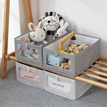 actionclub multifunction non woven cloth closet dust proof moisture proof high quality fabric wardrobe clothes storage cabinet Folding Storage Box Dirty Clothes Collecting Case Non Woven Fabric Moisture-proof Toys Quilt Storage Box