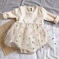 Детские Боди MILANCEL, цельная юбка-пачка с длинным рукавом для маленьких девочек, детская одежда - фото