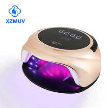 XZM Nail Lamp 92W Newest Lamp UV Led Nails Gel Dryer Professional UV 42pcs Lamp With Smart Sensor and Timer Manicure Ongles Tool