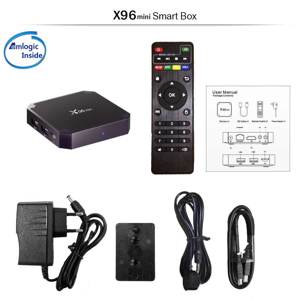 X96 Mini Android TV Box, Android 7.1. Tivi Box Thông Minh GB RAM 16 GB. Amlogic S905W Quad Core 2.4GHz Wifi. Set Top Box 1GB 8GB Tùy Chọn