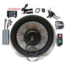 Electric Bicycle Conversion Kit Bluetooth 60V 72V 1500W 3000W 5000W 18-29inch 700C bike EBike Front Rear Motor Wheel