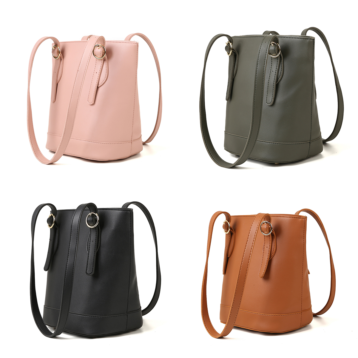 Women Simple Fashion Leather Handbags Big Women Bag High Quality Casual Female Bags Trunk Tote Shoulder Bag Ladies Large