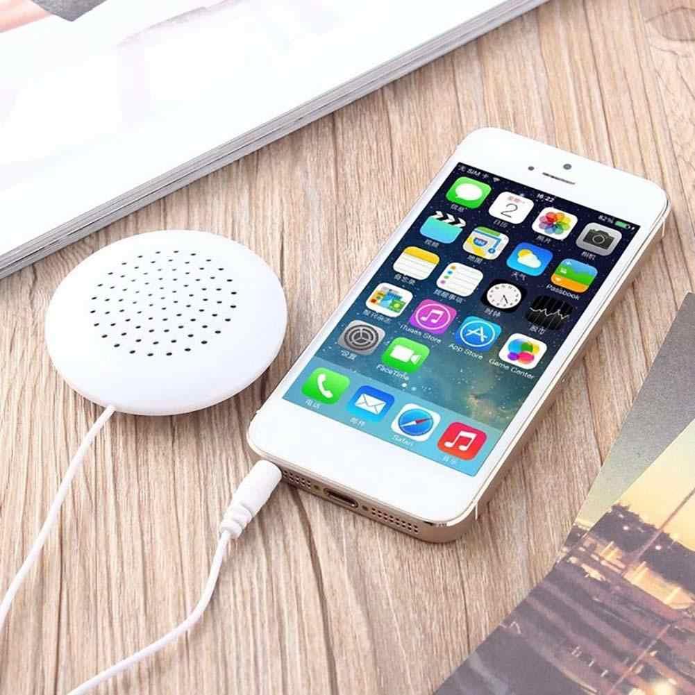 Dobry Mini biały 3.5mm Mini poduszka głośnik do odtwarzacza MP3 odtwarzacz MP4 radio cd najmniejszy głośnik