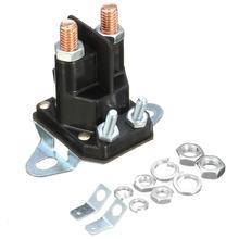12 В Универсальный 4 полюса Стартер электромагнитный релейный переключатель Замена для MTD газонокосилки стабильная производительность и высокая надежность