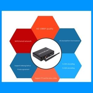 Image 5 - H.265 H.264 de vídeo HDMI de Audio codificador wi fi Iptvs Rtsp Rtmp Onvif HDMI codificador H265 para retransmisión en directo (enchufe de la UE)