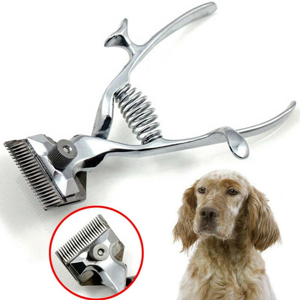 Traditional Type Manual Steel Pet Dog Grooming Clipper Men Hair Trimmer Cutter