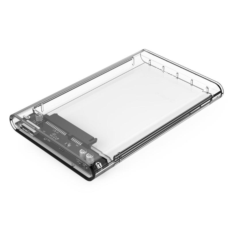 ORICO Transparent 2.5 Inch HDD SSD Case Sata To USB 3.0 Adapter Free 5 Gbps Box Hard Drive Enclosure Support 2TB UASP Protocol