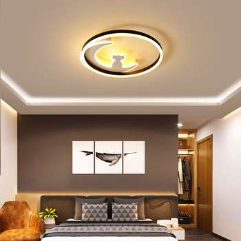 Chandelierrec Modern Kid's Room LED Ceiling Lights AC85~260V lampara de techo for living room bedroom home dimming ceiling lamp