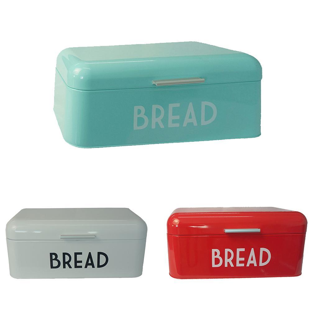 Кухонная коробка для хлеба, металлический чехол для хранения, европейский стиль, Ретро стиль, для хлеба, кондитерских изделий, Кухонный Конт