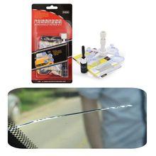 2020 New Windshield Repair Kit Quick Fix DIY Car Wind Glass Bullseye Rock Chip Crack Star C63D