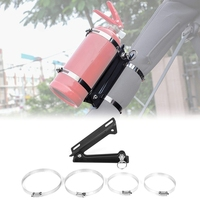 Adjustable Roll Bar Fire Extinguisher Mount Bottle Holder for Jeep Wrangler TJ JK JKU JL UTV Polaris RZR Ranger Car Accessories